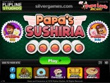 Papas Sushiria: Building Game