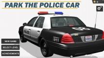 Park The Police Car: Menu