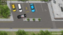 Park The Police Car: Parking Police Gameplay