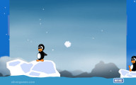 Penguin Wars: Snow Ball Fight