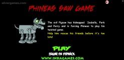 Phineas Saw Game: Menu