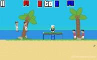 Ping Pong Chaos: Gameplay Beach Ball