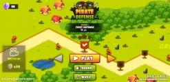 Pirate Defense: Menu