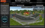 Pixel Battle Royale Multiplayer: Menu