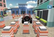 Parking De Voiture De Police: Screenshot