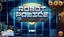 Police Robot Iron Panther: Menu