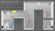 Portal Flash Version: Gameplay Escape Room Teleporter