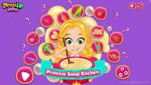 Princess Soup Kitchen: Menu