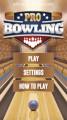 Pro Bowling 3D: Menu