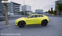 Project Car Simulator: Berlin: Yellow Sports Car