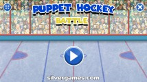 Puppet Hockey Battle: Menu