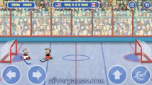 Puppet Hockey Battle: Gameplay Hockey