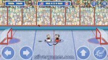 Puppet Hockey Battle: Gameplay Hockey Player