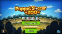 Puppet Soccer Zoo: Menu