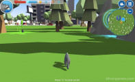 Waschbär Simulator: Gameplay