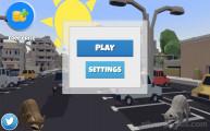 Waschbär Simulator: Menu