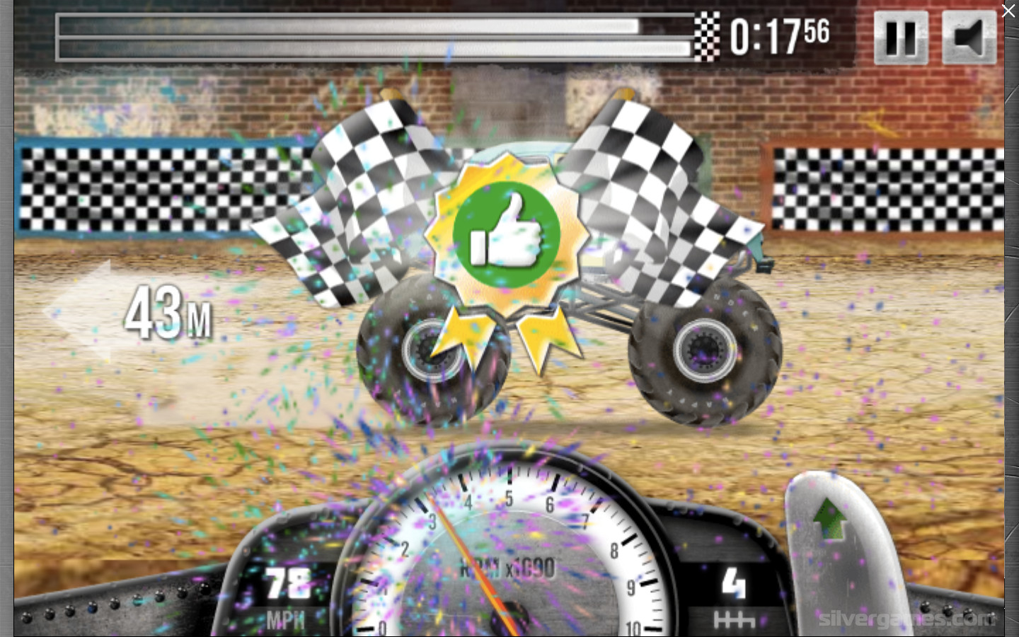 Racing Monster Trucks Free Online Monster Truck Racing Game