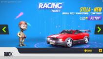 Racing Rocket: Car Selection