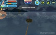 Raft Survival Simulator: Collecting Boxes Hook