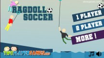 Ragdoll Soccer 2 Player: Menu