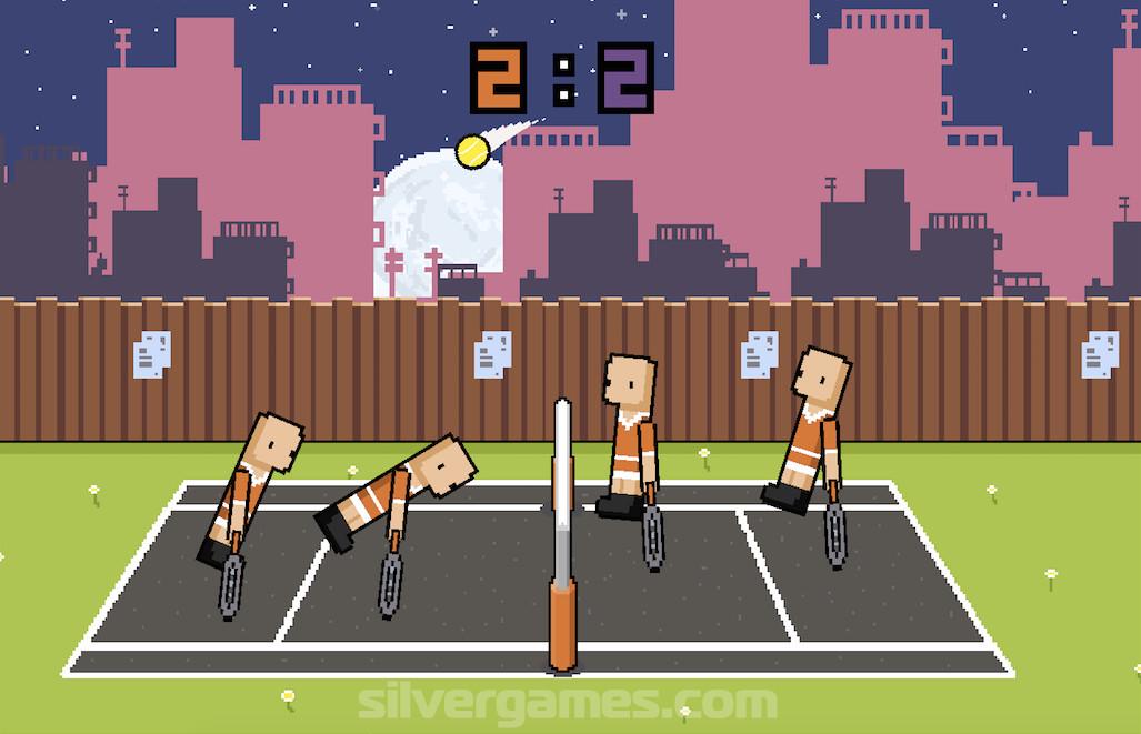 Ragdoll Tennis 2 Player - Jeux gratuits en ligne sur Silvergames.com