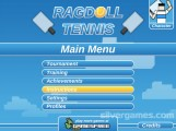 Ragdoll Tennis: Menu
