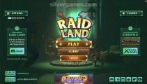 Raid Land: Menu