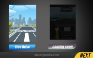 Real Car Drive 3D: Menu