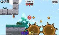 Красный Мяч 3: Gameplay Red Ball