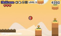 Red Ball 4: Gameplay Jumping Platform