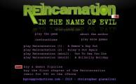 Reincarnation 5: Menu