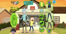 Rick Und Morty Dress Up: Gameplay Rick Morty