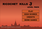 Ricochet Kills 3 Level Pack: Menu