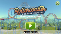 Rollercoaster Creator Express: Menu
