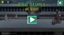 Roof Bike Stunt: Menu