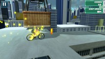 Roof Bike Stunt: Bicycle Stunt Gameplay Distance