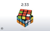 Rubik's Cube Simulator: Thinking Game