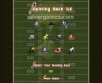 Running Back: Menu