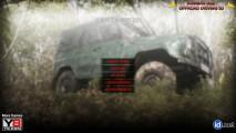 Russian UAZ Offroad Driving 3D: Menu
