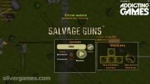 Salvage Guns: Menu