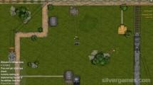 Salvage Guns: Tank Battle Green Field