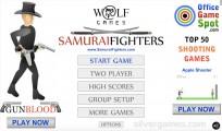 Samurai Fighters: Menu