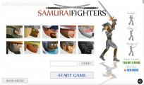 Samurai Fighters: Menu Fighting