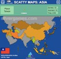 Scatty Maps Asia: World Countries
