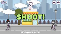 Shoot Or Die: Shoot Opponent Reflexes
