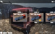 Simulated Truck Driving: Menu Selection