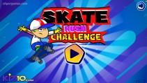 Skate Rush Challenge: Menu