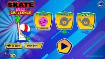 Skate Rush Challenge: Skateboard Menu Gameplay