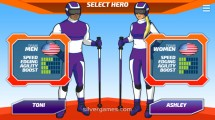 Ski Slalom: Hero Selection