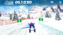 Ski Slalom: Gameplay Skiing